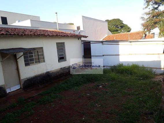 Casa Com 1 Dormitório Para Alugar, 55 M² Por R$ 800,00 - Jardim Chapadão - Campinas/sp - Ca1278