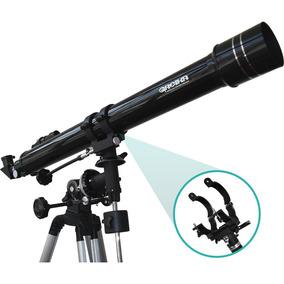 Telescópio F90070eq Equatorial Refrator 900x70mm Greika
