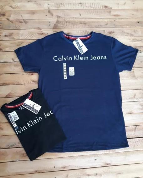 Kit 4 Camisas Multimarcas Basicas E Estampadas 100% Algodão