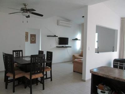 Departamento En Renta Amueblado En Cancún, Zona Centro-plazas Outlet