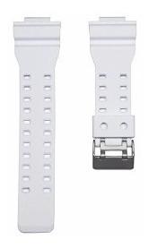 Pulseira Relógio G-shock Ga100 Ga-110 Ga-120 Ga-300 Branca