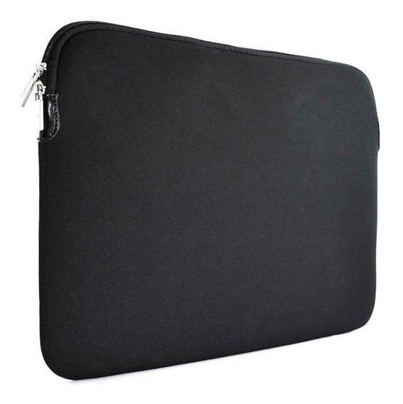 Case Capa Macbook 13,3 Em Neoprene Preta Frete Grátis
