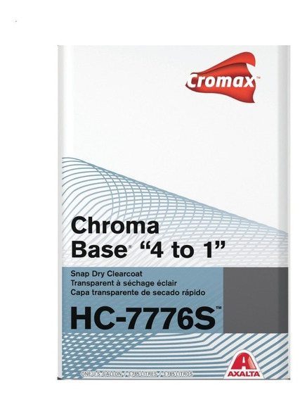 Axalta Cromax Kit Barniz 7776 3,785lts + Catalizador 946ml