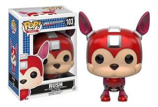 Funko Pop Rush 103 Megaman Pop Games