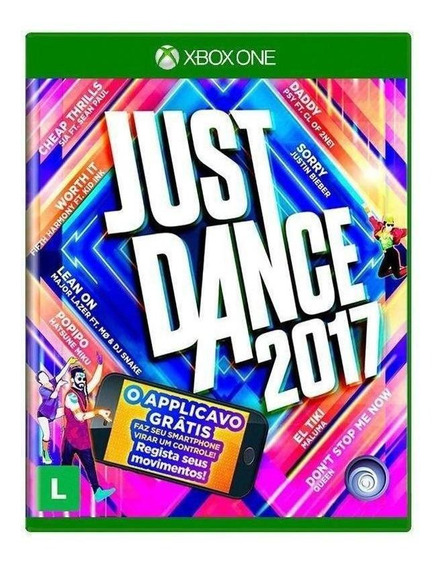 Jogo Just Dance 2017 - Kinect - Xbox One - Midia Fisica