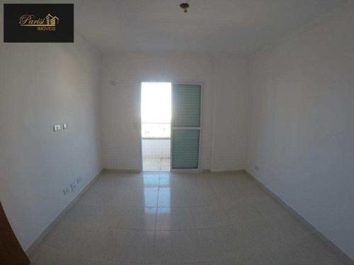 Imagem 1 de 5 de Apartamento Com 2 Dorms, Ocian, Praia Grande - R$ 300.000,00, 80,85m² - Codigo: 440 - V440