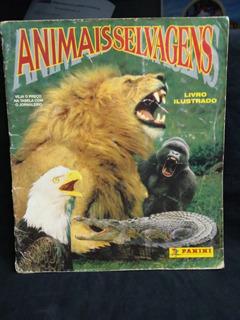 Album De Figurinhas Animais Selvagens Incompleto Poster 96