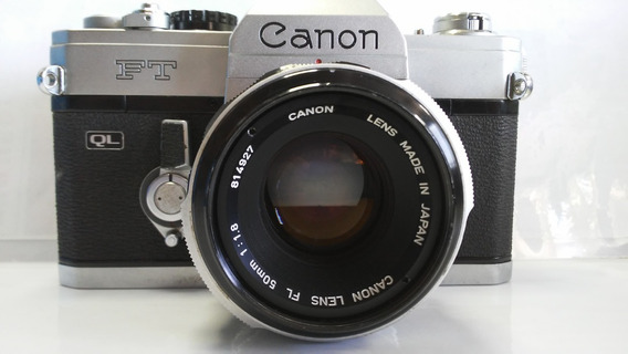 Canon Ft Ql , Canon Fl 50mm 1:1.8