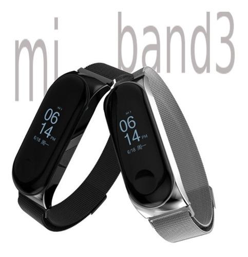 Imagen 1 de 7 de Correa Sport Magnetica Xiaomi Mi Band 3