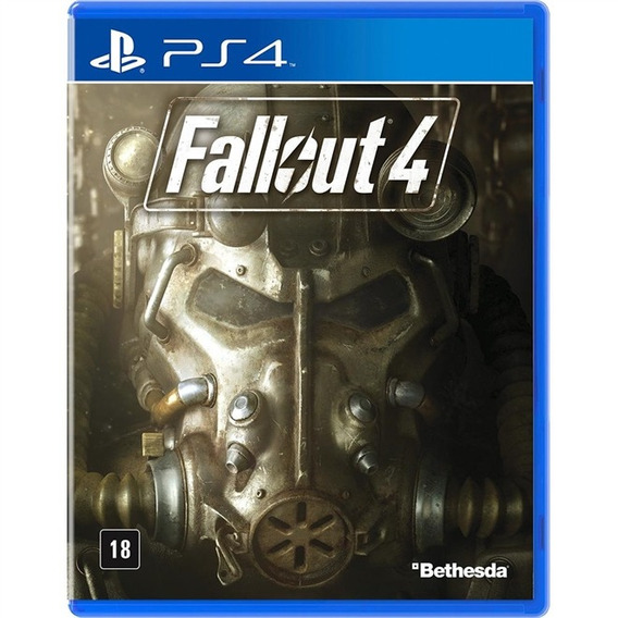 Fallout 4 Ps4 Mídia Física Lacrado Em Português