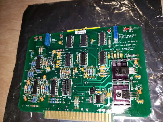 Placa De Circuito De Soldagem Powcon Cyclomatic Assy 1102-0046 Rev E 1115-0144