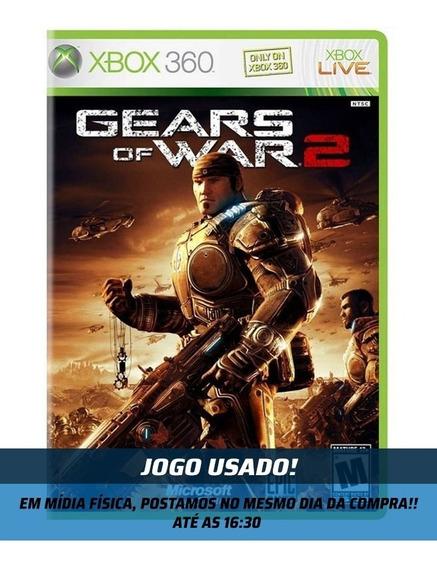 Jogo - Gears Of War 2 - Xbox 360 - Usado