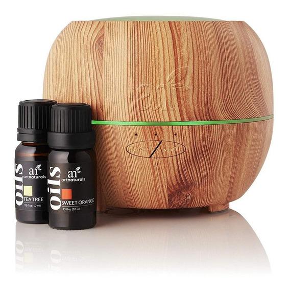 Difusor De Aromaterapia Aceite Esencial Y Set 16 Aceites