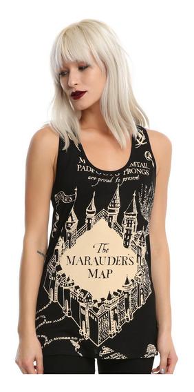 Marauders Map Tank Top