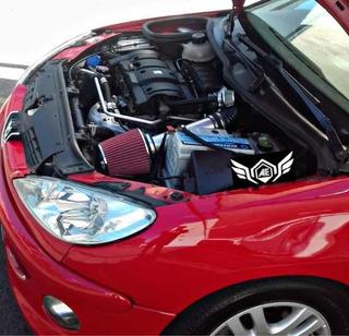 Kit Admision Directa Inox Peugeot 206 207 307 Partn 1.4 1.6