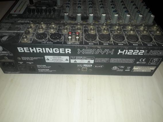 Mesa De Som Behringer Xenyx 1222usb