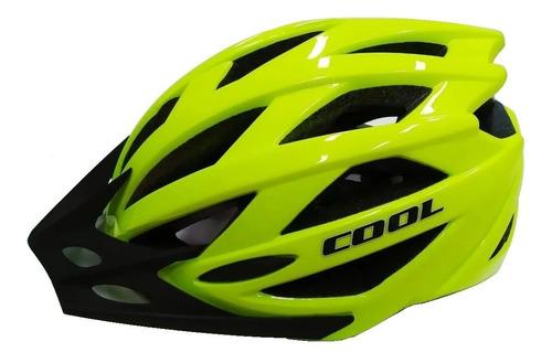 Casco Ciclista Cool In Mold Mtb Ventilado Regulable Pro Bici