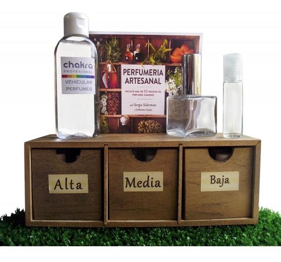Kit Perfumista Completo, Incluye Libro Y Envío Gratis!