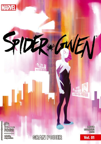 Imagen 1 de 1 de Cómic, Marvel, Spider-gwen Vol. 1: Gran Poder Ovni Press