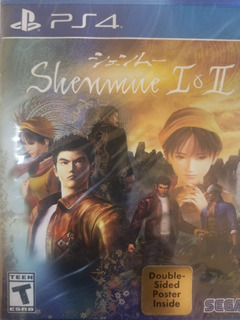 Shenmue I & Ii Ps4 Nuevo Sellado Delivery Stock Ya