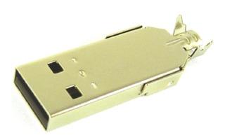 Conector Usb Macho Tipo A Para Cable X5 Unidades