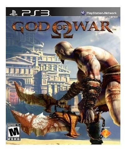 God Of War 1 Ps3 Original Digital