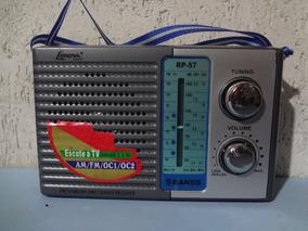 Radio Portátil Lenoxx Rp 57 - Am / Fm