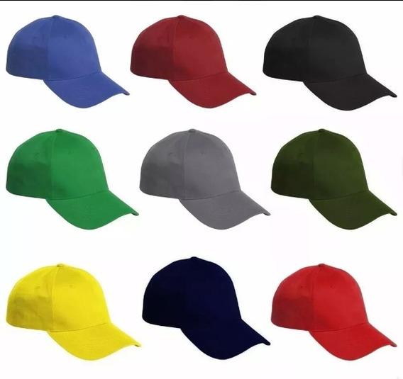 Gorras Unicolor Para Bordar Al Mayor (tienda Física)