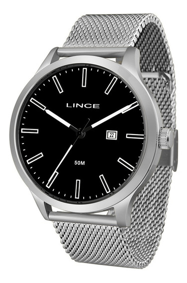 Relógio Masculino Lince Prata Mrm4494s