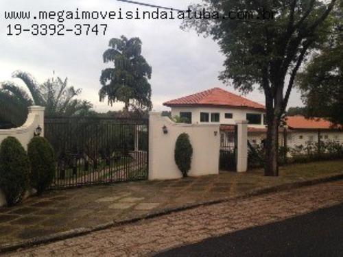 Imagem 1 de 30 de Chácara Com 4 Suítes No Condomínio Lagos De Shanadu Em Indaiatuba - Ch00389 - 3518982