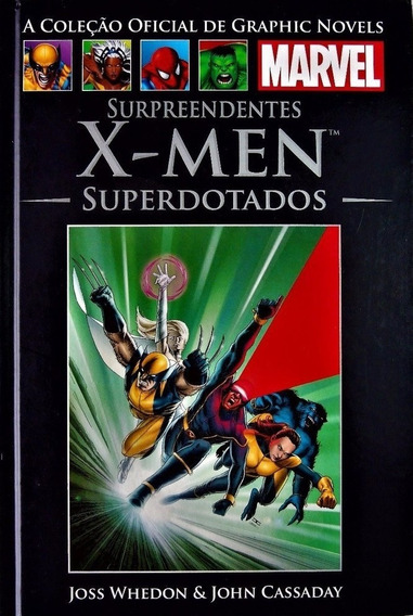 Surpreendentes X-men Superdotados - Graphic Novel Marvel