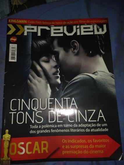 Revista Cinquenta Tons De Cinza