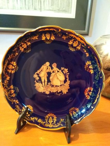 Plato De Porcelana Imperial Limoges Real Gold