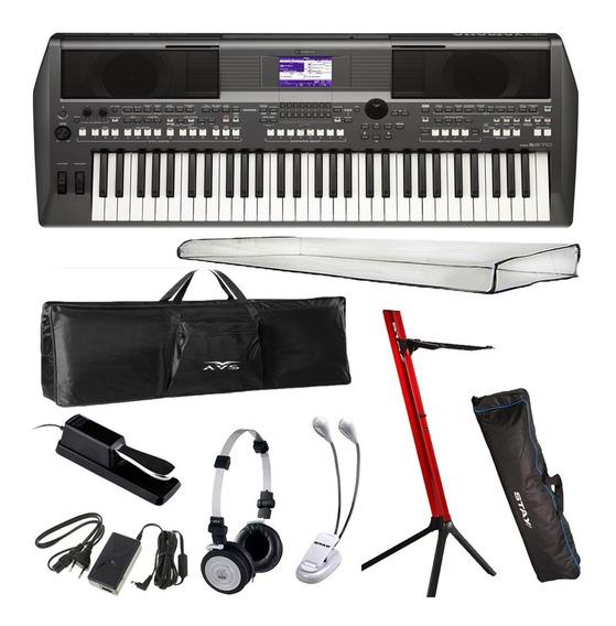Teclado Yamaha Arranjador Psr S670 + Kit