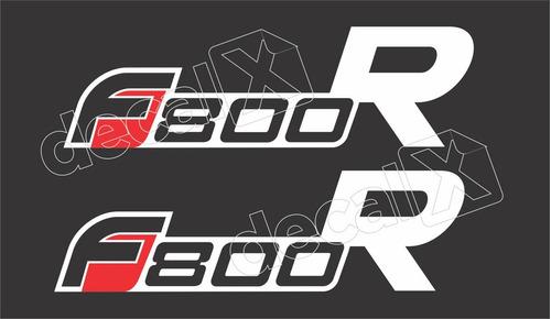 Imagem 1 de 2 de Emblema Adesivo Bmw F800r Par Bwf800r07