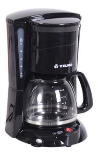 Cafetera Electrica Yelmo Ca-7108 12 Pocillos 800w Negra Pc