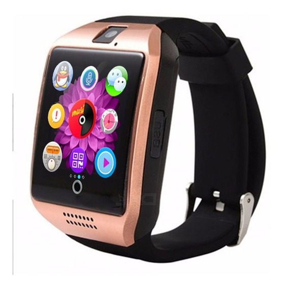 Smart Watch Q18 Curvo Reloj Celular Inteligente Android Sim