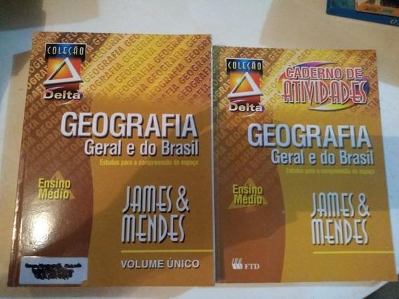 Colecao Delta Geografia Geral E Do Brasil + Caderno Atividad