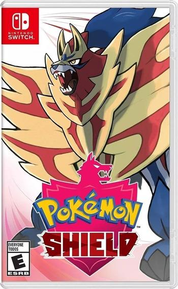 Jogo Pokémon Schield Nintendo Switch - Mídia Física Original