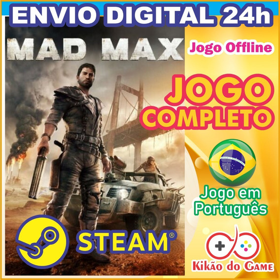 Mad Max Pc / Mac / Linux Digital Br - Steam Offline