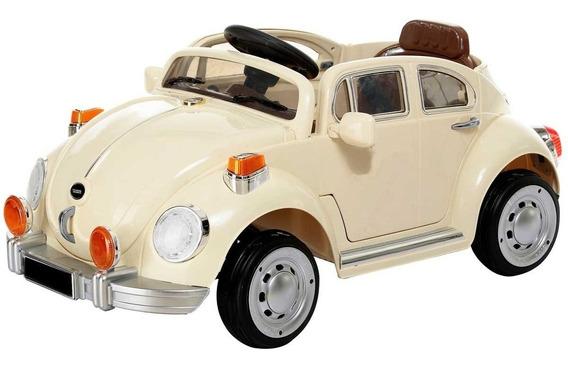 Montable Electrico Volkswagen Vocho Control Remoto Radio 6v