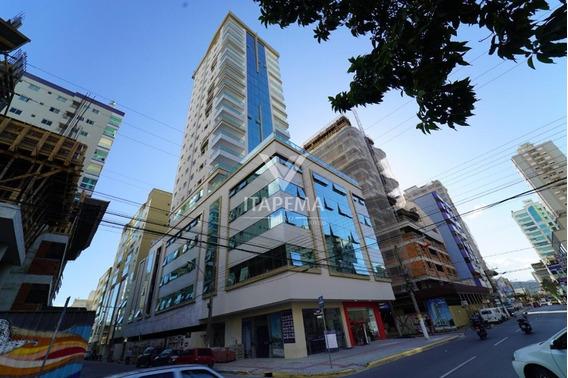 Boa Localização - Apartamento Em 60x Na Meia Praia- Ref 581
