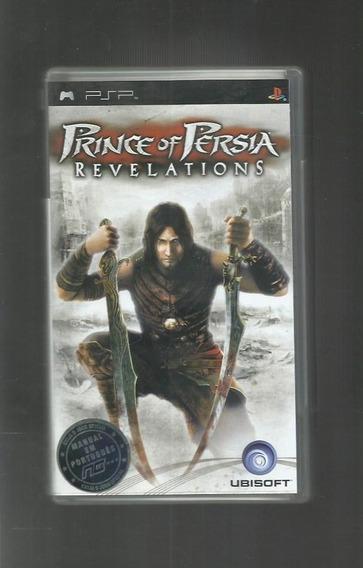 Prince Of Persia Revelations - Apenas Capa E Encarte - Psp