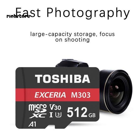 Cartão De Memória Toshiba 512gb 80mb/s 3.0