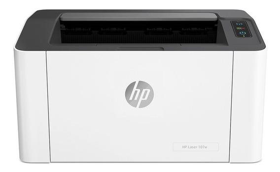 Impresora Laser Hp 107w Wifi M107w Reemp M12 M15w ¡cuotas!