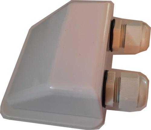 Imagen 1 de 4 de Caja Pasacables Techo Casilla Rodante Motorhome Botes