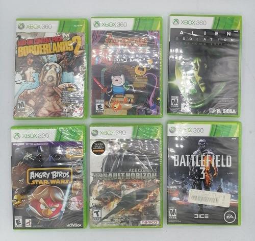 Imagen 1 de 9 de Xbox 360 Juegos Nuevos Originales Y Sellado C/u A 100 Soles!
