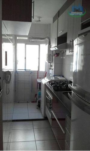 Apartamento Com 3 Dormitórios À Venda Ou Locação, 56 M² Por R$ 280.000 - Cocaia - Guarulhos/sp - Ap0968