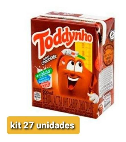 Kit Toddynho 27 Unidades De 200ml Frete Grátis