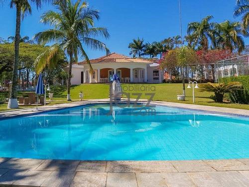 Chácara Com 5 Dormitórios À Venda, 7500 M² Por R$ 5.500.000,00 - Colinas Do Mosteiro De Itaici - Indaiatuba/sp - Ch0431